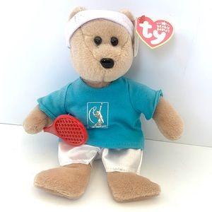 Feder-bear the Roger Federer TY Beanie Baby NWT